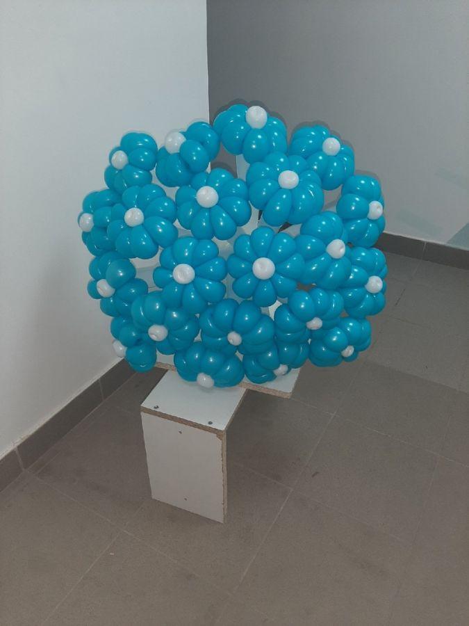 Шикарный букет! Цветы из воздушных шариков
