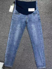 Джинсы для беременных 518 синие