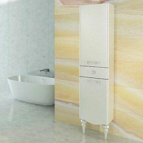 Шкаф-колонна Comforty  Монако-40 правая белый глянец