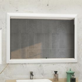 Зеркало Comforty Империя-120 белый глянец