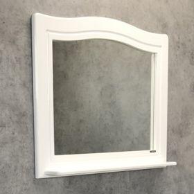 Зеркало Comforty Павия-100 белый глянец
