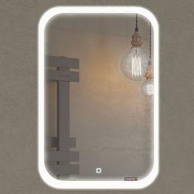 Зеркало Comforty Пион 60 LED подсветка, сенсор 600*800 00-00000700CF