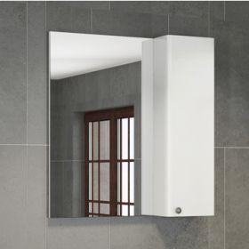 Зеркало-шкаф Comforty Амстердам-75 белый