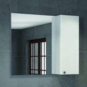Зеркало-шкаф Comforty Амстердам-95 белый