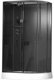 Душевая кабина Timo ILMA 902 Black L 120x80