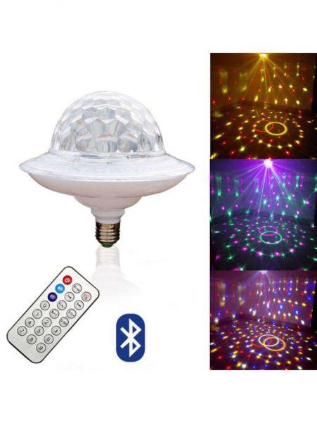 Лампа LED с музыкой, НЛО