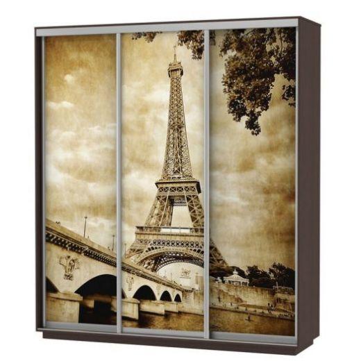 Шкаф-купе Экспресс Фото трио, Париж Ш2400*600