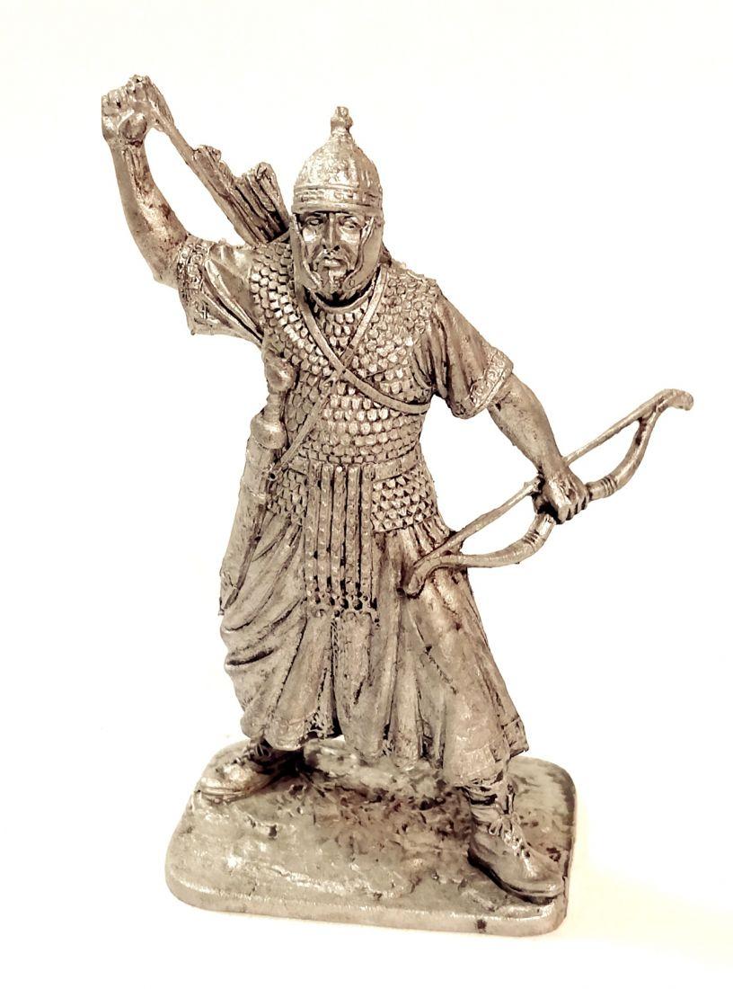 Фигурка Восточный лучник. Рим 1-2 в н.э. олово