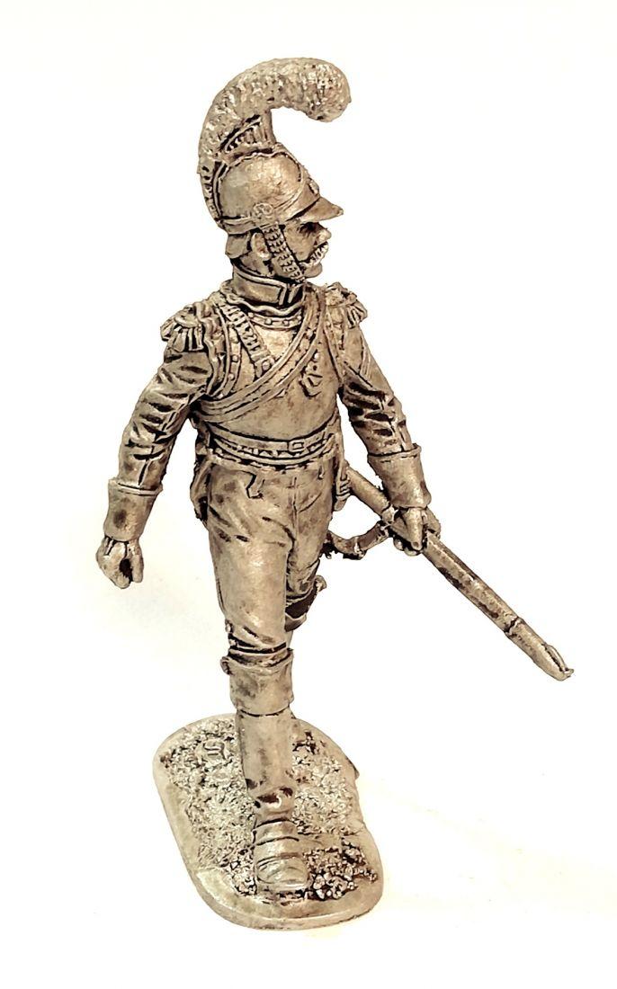 Фигурка Рядовой карабинерного полка. Франция 1812 г. олово
