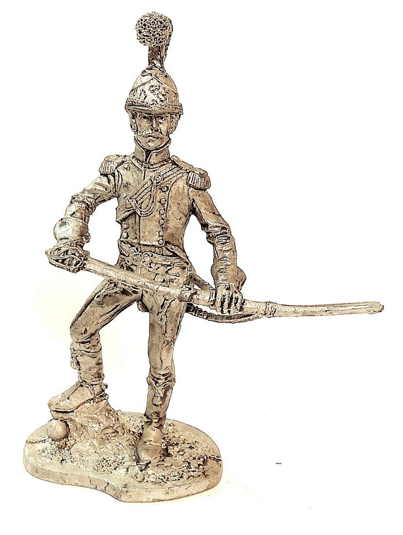 Фигурка Офицер Шевалежерского полка 1811-14 г олово