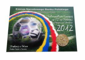 Польша 2 злотых - СТАДИОНЫ Евро-2012 (Стадион Познань), ОФИЦИАЛЬНЫЙ ВЫПУСК Msh