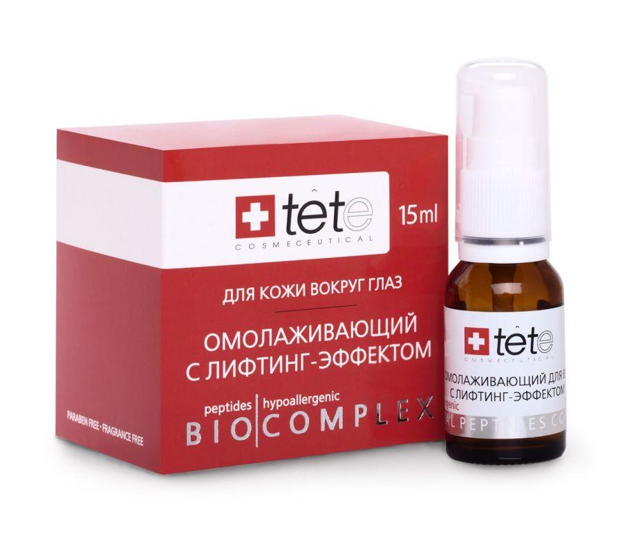 Омолаживающий биокомплекс  для век с лифтинг –эффектом 35/40+ Tete cosmeceutical (Тете косметик) 15 мл