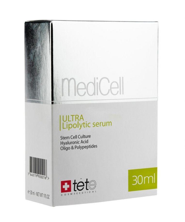 Антицеллюлитная сыворотка с кофеином и карнитином Tete cosmeceutical (Тете косметик) 30 мл