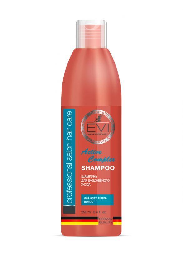 Шампунь «Активный комплекс» для всех типов волос, 250 мл. «EVI»