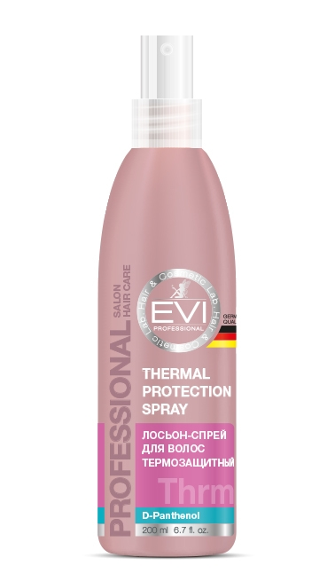 Лосьон термозащитный для волос, 200 мл. «EVI»