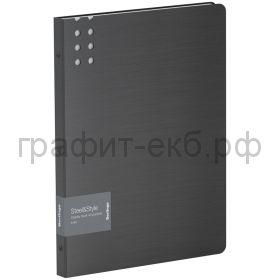 Папка 40 конвертов Berlingo Steel&Style черная PPf_96001