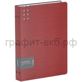 Папка 80 конвертов Berlingo Steel&Style красная PPf_97003