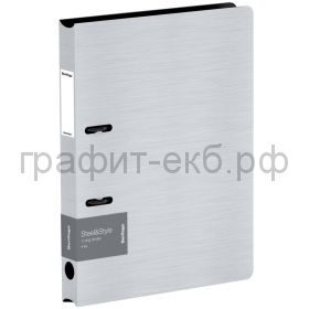 Папка А4 3.5см 2к.Berlingo Steel&Style белая PPf_95004