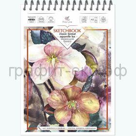 Блокнот А5 20л.нелин.Полином Sketchbook FINE LINE AQUARELLE LUX 200г/м2 3076