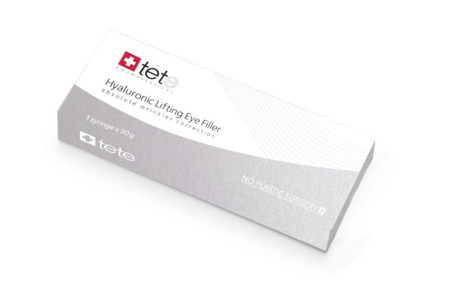 Гиалуроновый филлер для век (HYALURONIC LIFTING EYE FILLER) Tete cosmeceutical (Тете косметик) 30 мл