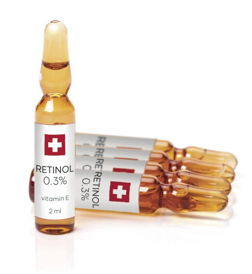 Активный ампульный концентрат с инкапсулированным ретинолом 0,3% ( Retinol ampoule 0.3%) Tete cosmeceutical (Тете косметик) 5*2 мл