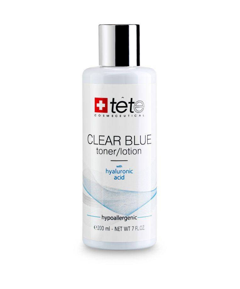 Тоник с гиалуроновой кислотой (CLEAR BLUE Toner/Lotion) Tete cosmeceutical (Тете косметик) 200 мл