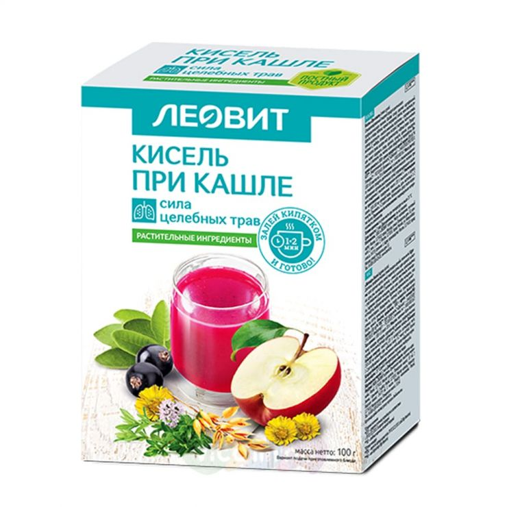 Леовит Нутрио Кисель «При кашле» 20гр, 5шт