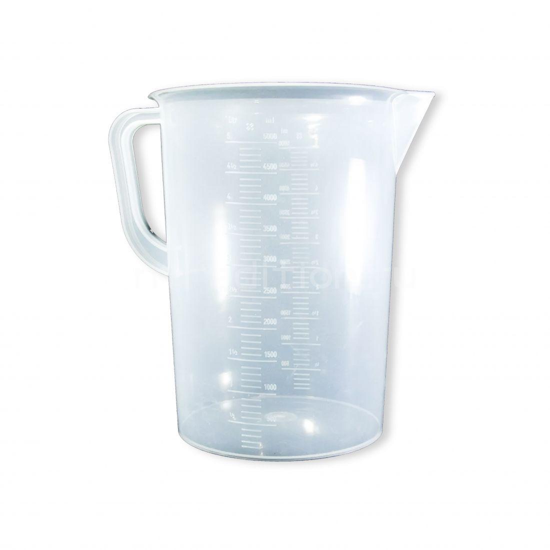 Мерный стакан, 5 литров (пластик)