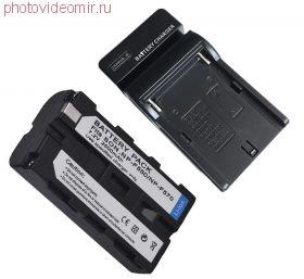 Зарядное устройство Digital для Sony NP-F970/F570/FM50/QM91 с аккумулятором NP-F570