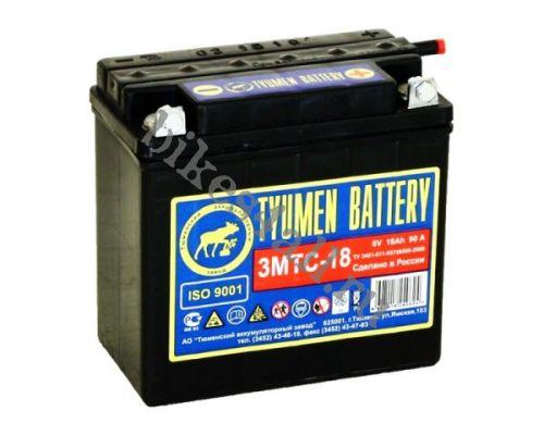 Аккумулятор Tyumen Battery 3МТС-18 Ач (6-ти вольтовый)