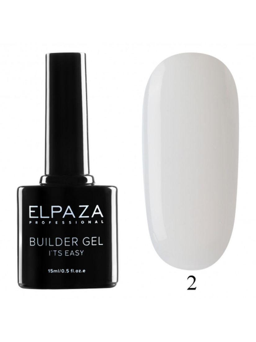 Гель для наращивания ELPAZA Builder Gel 02  15 мл