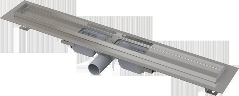 APZ101 LOW Водоотводящий желоб с порогами для перфорированной решетки