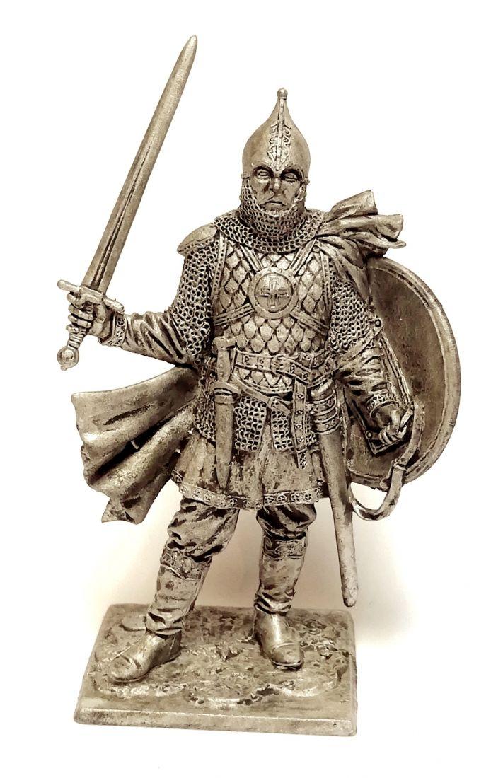 Фигурка Русский воин 14 в олово
