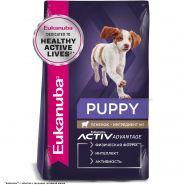 Eukanuba Puppy All Breeds Lamb&Rice Корм для щенков всех пород с ягненком и рисом (2,5 кг)