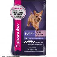 Eukanuba Puppy Small Breed Корм для щенков мелких пород (3 кг)