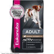 Eukanuba Dog Adult All Breed Lamb&Rice Корм для взрослых собак всех пород c ягненком 1 кг.