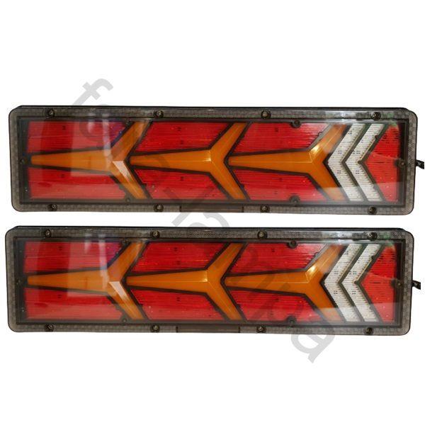 Фонари задние светодиодные для грузовика