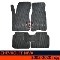EVA коврики на CHEVROLET NIVA (2002-2020г)