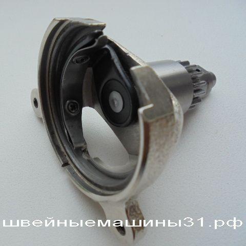 Корпус хода челнока, толкатель челнока, шестерня привода челнока в сборе BROTHER LS, JS И ДР.   ЦЕНА 1000 РУБ.