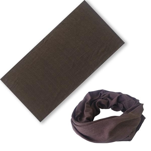 Бандана трансформер коричневая