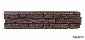 "Панель GL ""Я фасад"" Крымский сланец. Размер: 1487*306мм Цвет: арабика, уголь, гречневый."