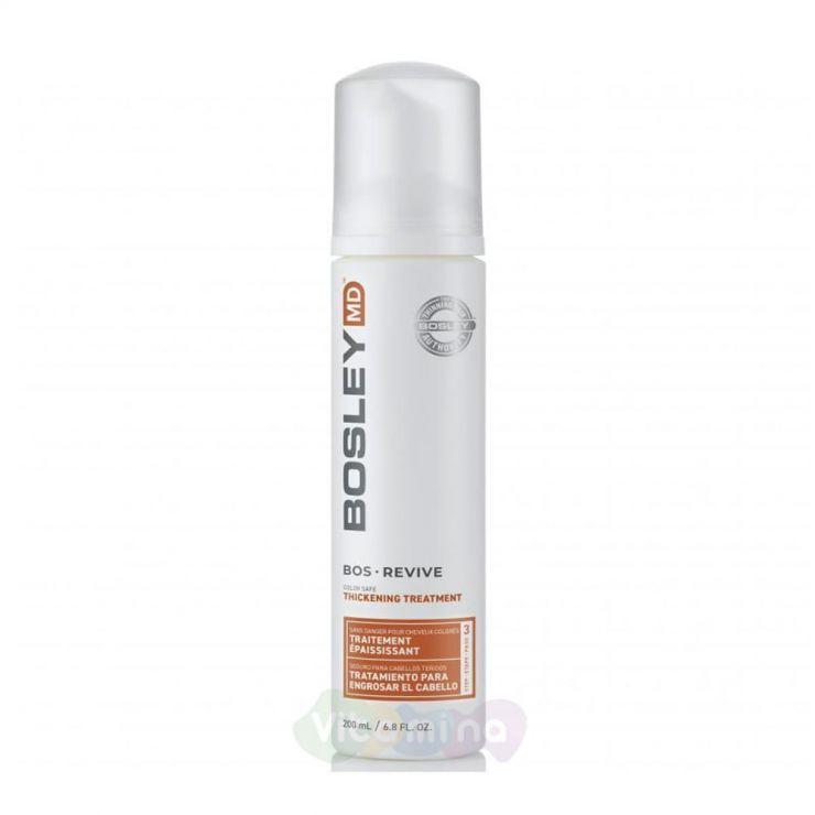 BOSLEY MD Уход для предотвращения истончения и выпадения волос BosDefense Color Safe Thickening Treatment, 200 мл