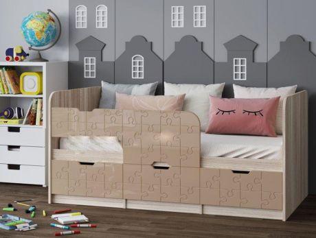 Детская кровать Юниор-9 1,6 МДФ