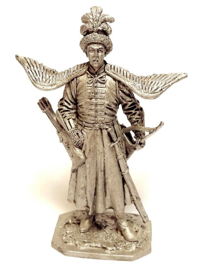 Фигурка Польский кавалерист 17в.  олово