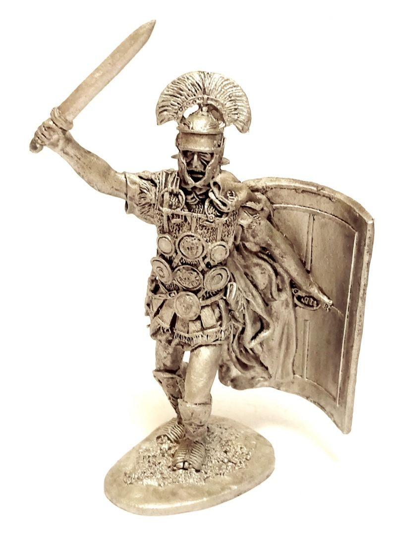 Фигурка Центурион  II легион Августа Рим 1в. н.э. олово