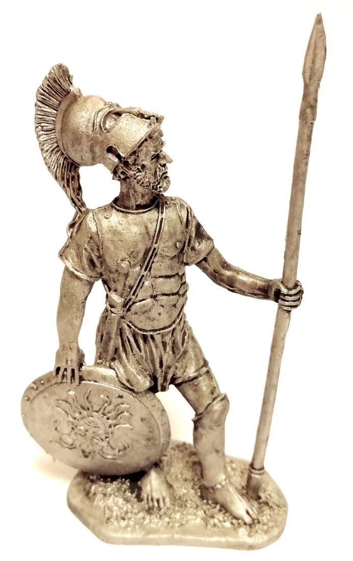 Фигурка Спартанский гоплит 5в. до н.э.. олово