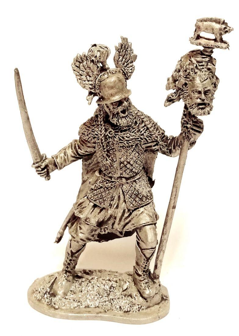 Фигурка Кельтский воин 2 половина 5в. до н.э.. олово