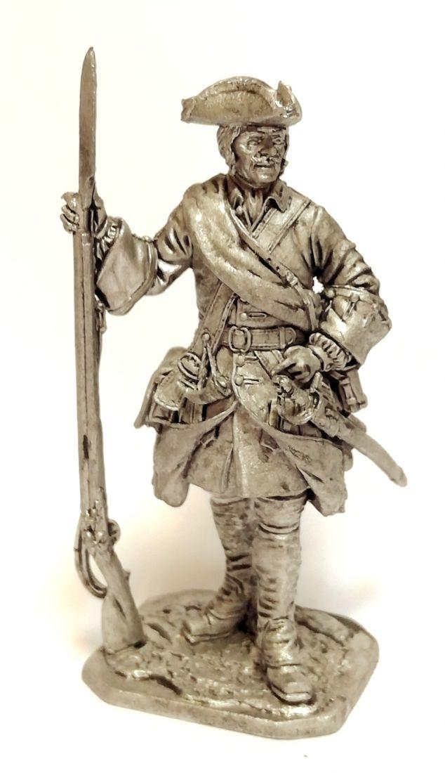 Фигурка Капрал армейской пехоты 1708-20 г. олово