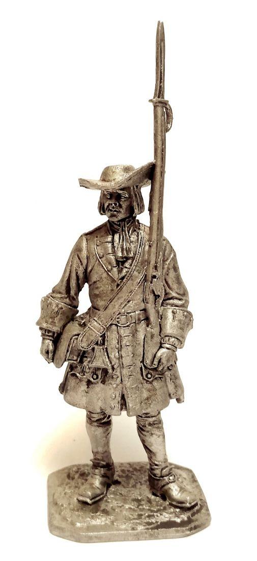 Фигурка Фузилер солдатского пехотного полка олово
