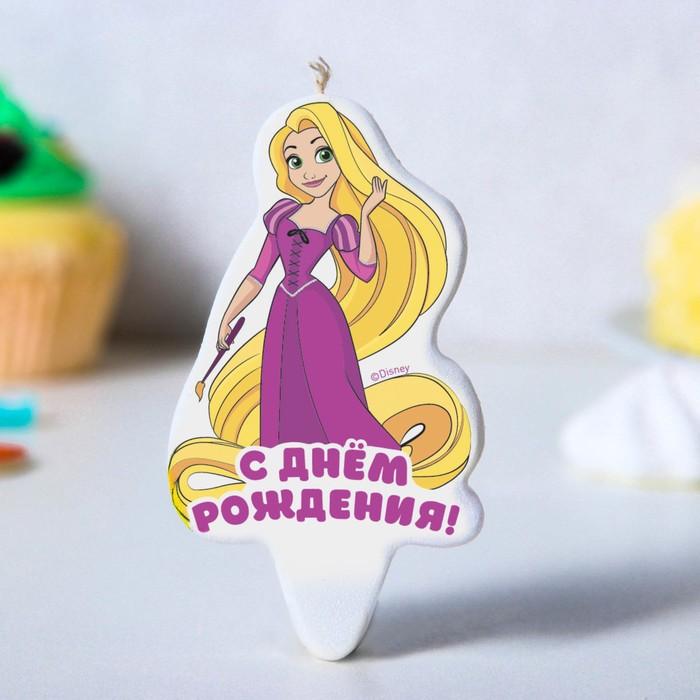 Рапунцель свеча в торт С Днем Рождения